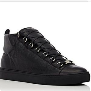 Balenciaga Leather mid-top sneakers